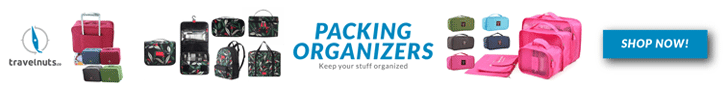 Packing Organizer Set - Travel Nuts