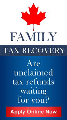 Familytaxrecovery.ca - Are unclaimed tax refunds waiting for you?
