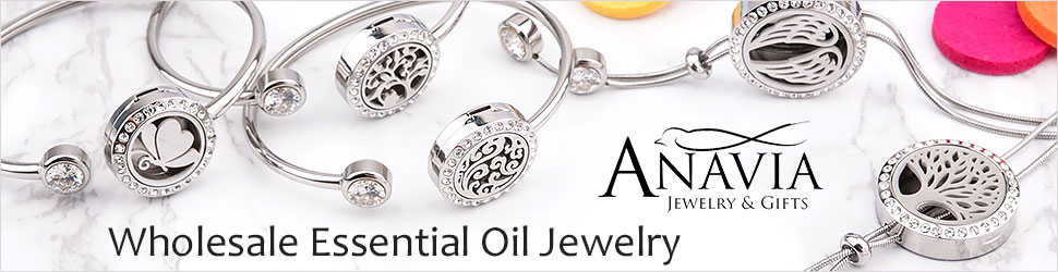 Top Essential Oil Bracelets & Necklaces Wholesale.