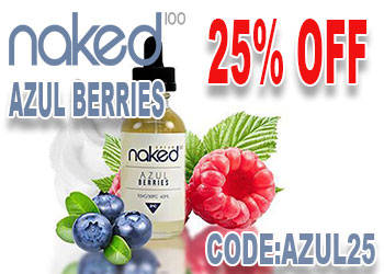 Naked Azul Berries 25% Off