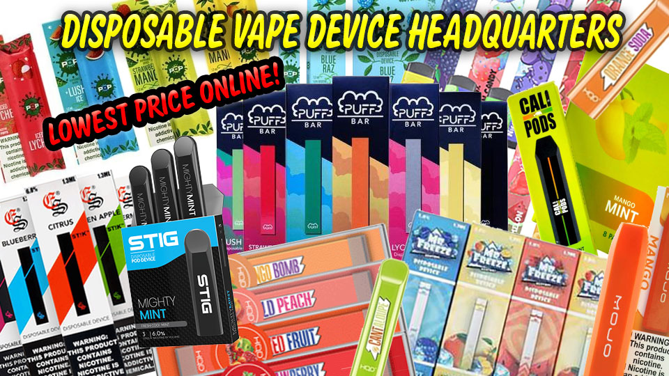 Disposable Vape Devices - Lowest Price Online