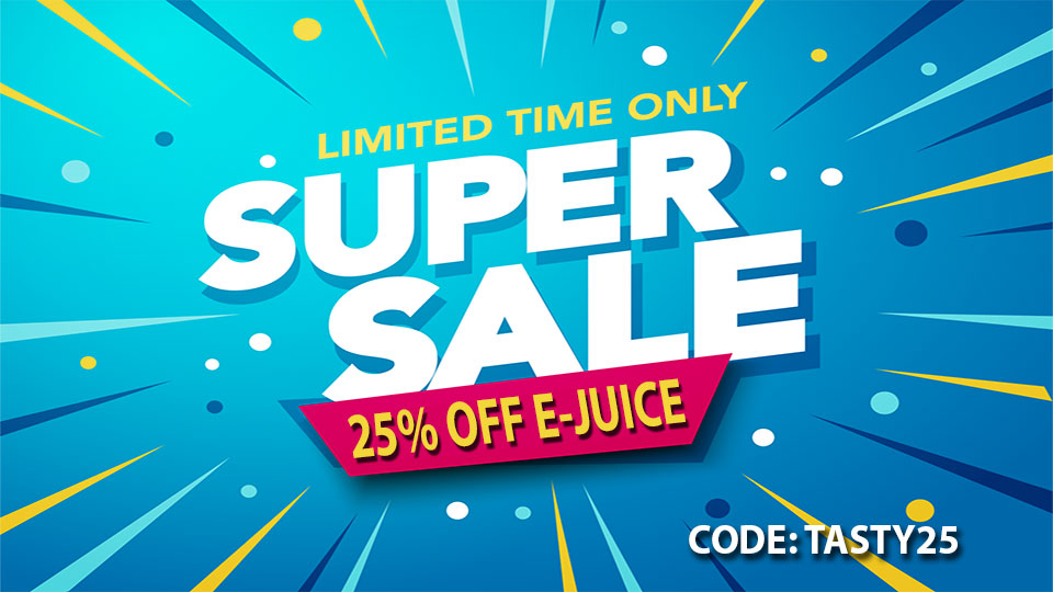 25% OFF EJUICE