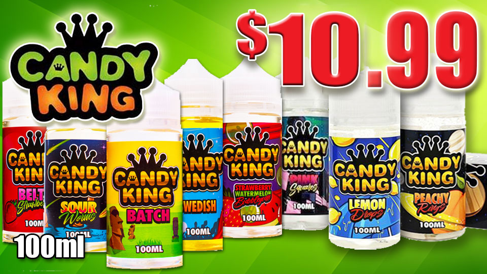 CANDY KING VAPE JUICE 9.00 BLOWOUT
