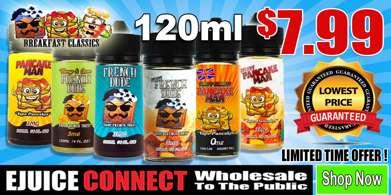 Vape Breakfast Classics 120ml $7.99