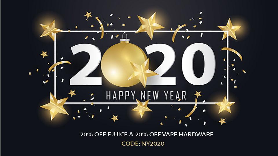 20% OFF E-JUICE - 20% OFF VAPE HARDWARE