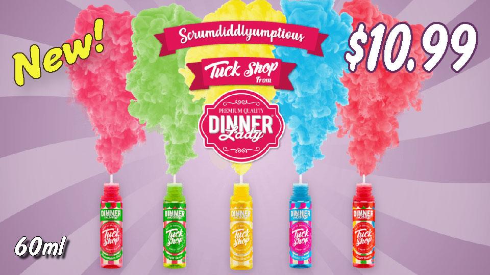 Dinner Lady Vape Juice $1-.00