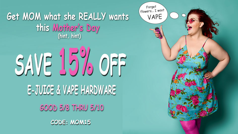 Mother's Day 15% OFF SALE