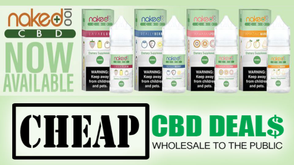 Naked CBD Vape Juice Sale