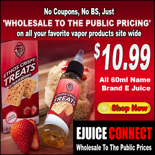 Whoeslale To The Public Vapor Products