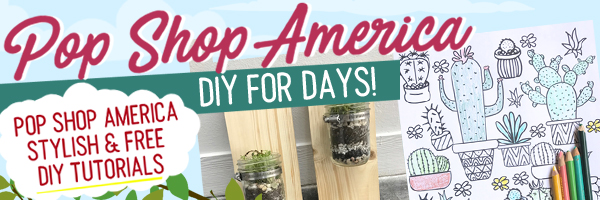 DIY Blog with Modern and Cool Craft Tutorials Pop Shop America