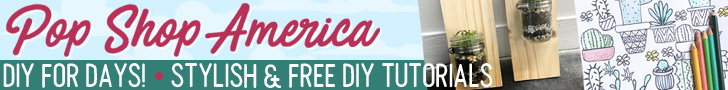 DIY Craft Tutorials by Pop Shop America Blog