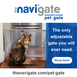 The Perfect Way To Provide Safety At Home And On The Go With This Travel Safety Pet Gate