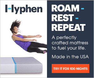 Hyphen Sleep - Roam. Rest. Repeat