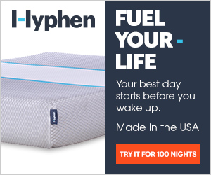 Hyphen Sleep - Fuel your life.