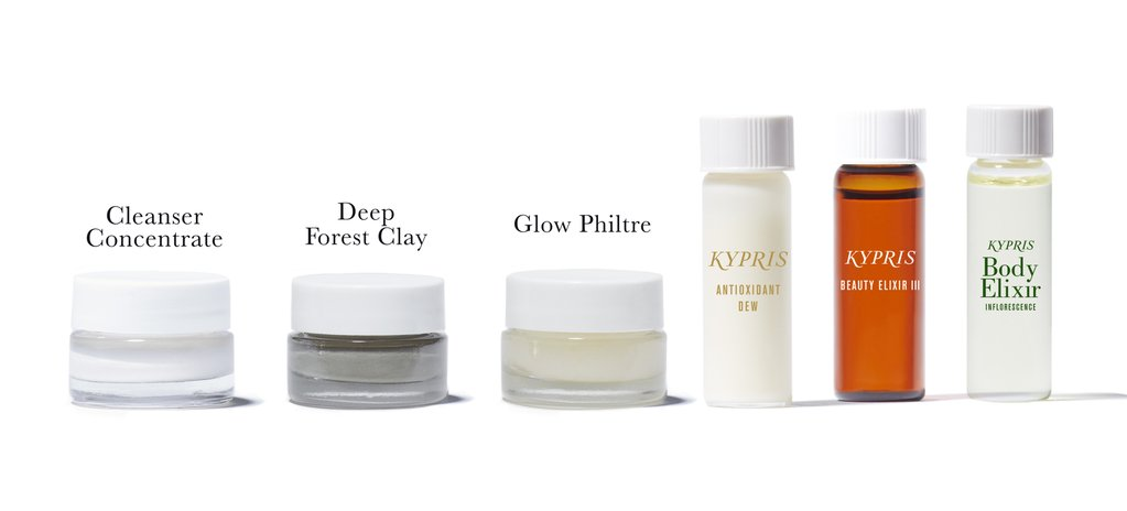 Cleanser Concentrate Deep Forest Clay Glow Philtre Antioxidant Dew Beauty Elixir III: Prismatic Array Body Elixir Inflorescence