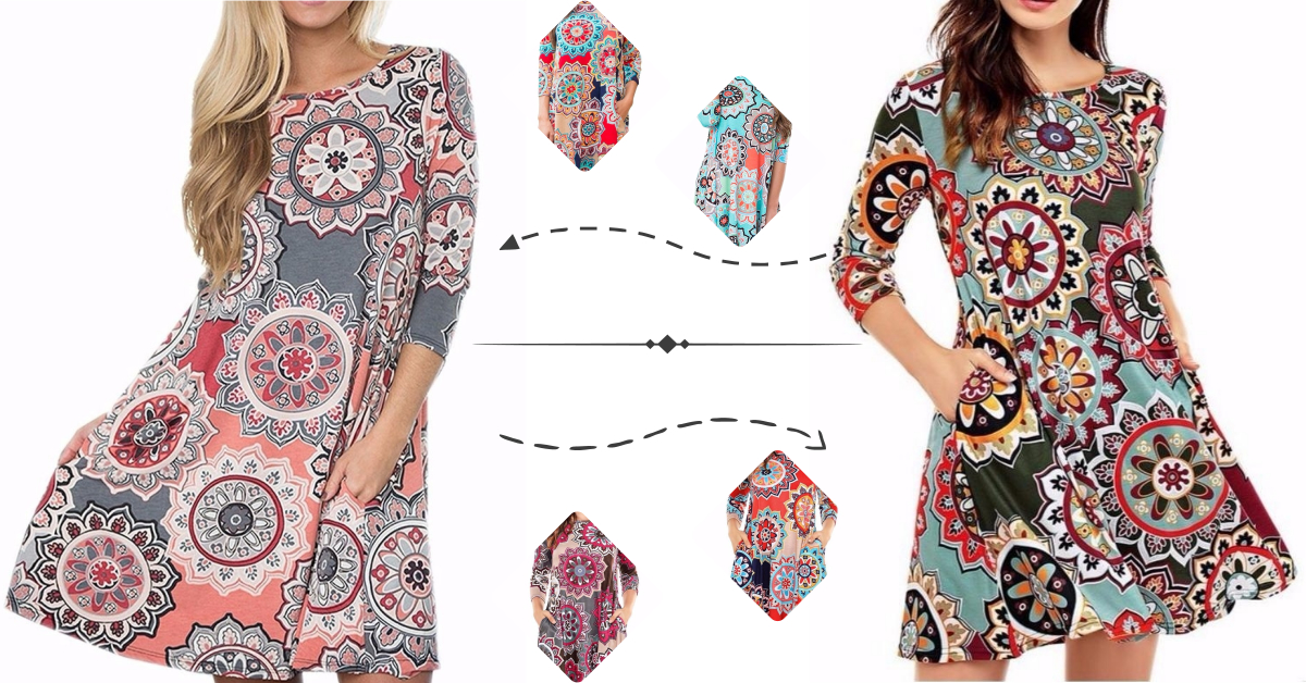 Floral Printed Tunics