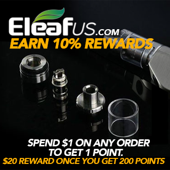 Visit https://www.eleafus.com/rewardpoints-policy for details