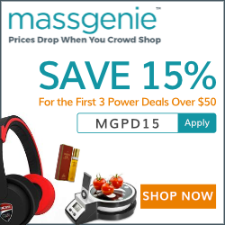 15% Off on your first 3 Power Deals over $50 + Free Shipping. Use code MGPD15 at Checkout.