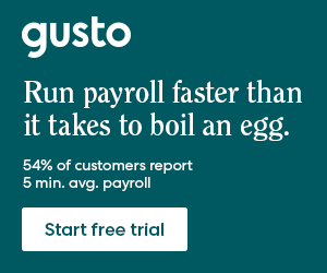 gusto payroll special offer image