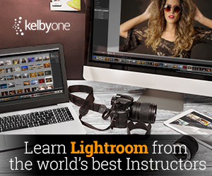 KelbyOne Online Photography, Photoshop, and Lightroom Classes.