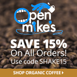 Save 15% on Organic Coffee
