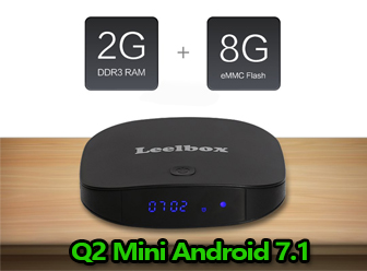 Leelbox Q2 Mini Android TV Box