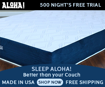 Aloha sleep Mattress coupon