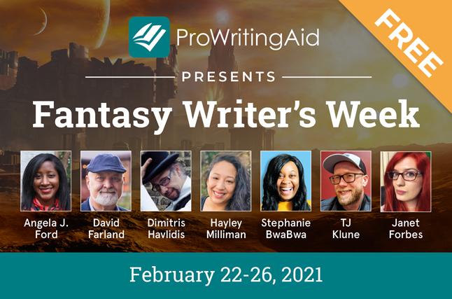ProWritingAid Presents Fantasy Writer's Week