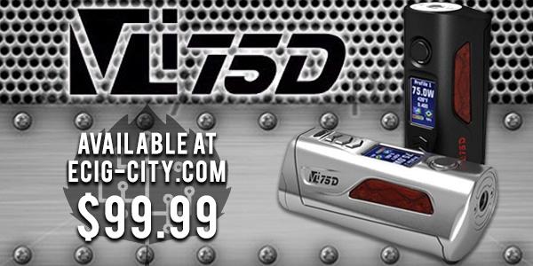 HCigar VT75D Evolv DNA 75 Box Mod $99.99