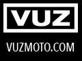 VUZ Moto Logo and URL