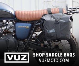 VUZ Moto Saddlebags