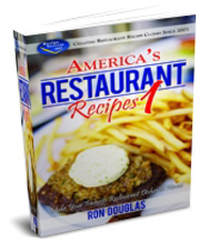 America's Restaurant Recipes Cookbook