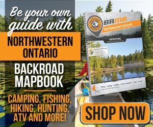 Northwestern Ontario Backroad Mapbook - Buy Now