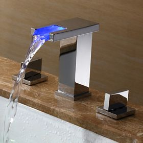 LED Bathroom Sink Faucets