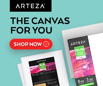 Arteza has the Canvas for You. Shop Now.