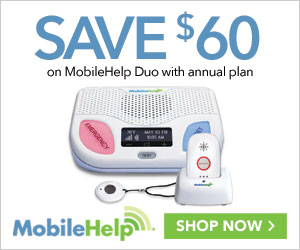 $50 Off MobileHelp Duo with Annual Plan at MobileHelp.com, no code needed.
