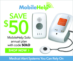 $50 Off MobileHelp Solo Annual Plan with code SOLO at MobileHelp.com 8/1-9/30/20.