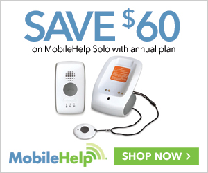 $60 Off MobileHelp Solo with Annual Plan at MobileHelp.com, no code needed.