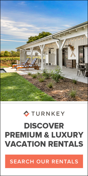 Discover luxury rentals in Napa/Sonoma with TurnKey Vacation Rentals