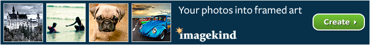 Frame your photos at Imagekind