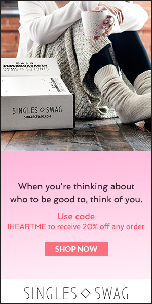 SinglesSwag Subscription Box – Treat Yourself This Valentine's Day!