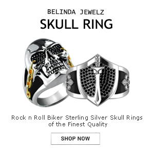 rock n roll sterling silver ring