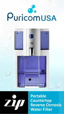 Puricomusa.com - ZIP Countertop Reverse Osmosis Water Filter