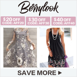 Shop chic dresses with up to 30% off at BerryLook.com!!