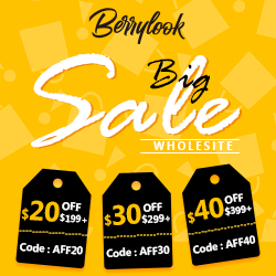 Whole Site $20$30$40 Off at Berrylook.com!!!