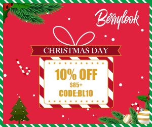 Christmas Day 10% off $85+ at Berrylook, Code:bl10