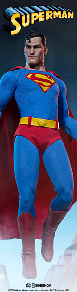 Superman Sixth Scale Figure by Sideshow Collectibles