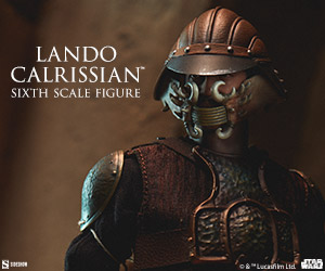 Lando Calrissian (Skiff Guard Version) Sixth Scale Figure by Sideshow   Collectibles