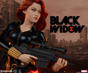 Black Widow Statue by Sideshow Collectibles Avengers Assemble
