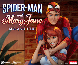 Spider-Man and Mary Jane Maquette by Sideshow Collectibles